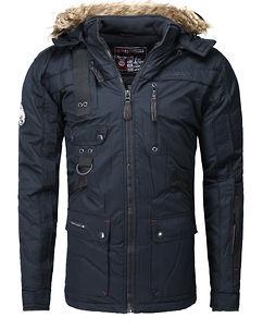 Chir Parka Jacket Navy