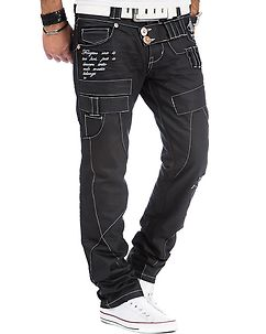 KM-050 Jeans Black