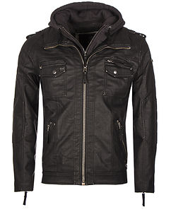 Black Rock Hooded Jacket Black