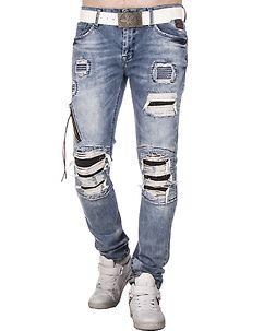 Austen Jeans Ripped Light Denim