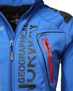 Tambour-Taco Softshell Jacket Blue