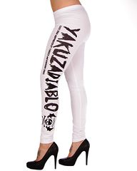 Diablo Leggings White