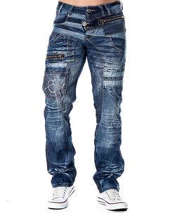 KM-010 Jeans Denim Blue