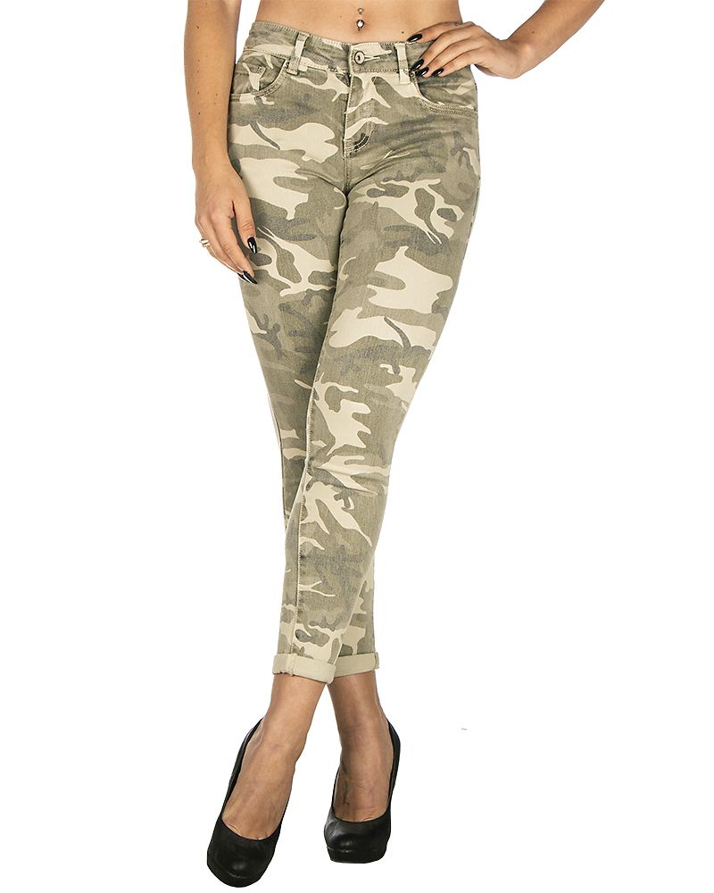Clover Jeans Green Camo ... 3c139fe229